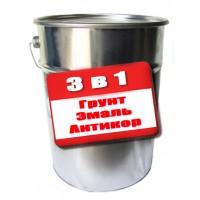 Грунт-эмаль 3 в 1 по ржавчине 25кг купить харьков, фото