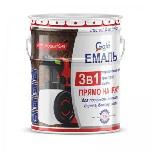 Грунт-эмаль 3 в 1 по ржавчине 2,5кг