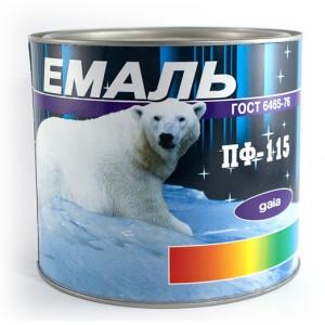 Эмаль ПФ-115 2,5кг