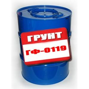 Грунт ГФ-0119 кр.-кор. 60кг